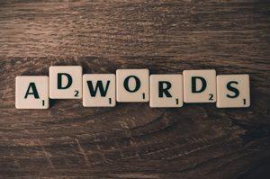 Google AdWords brickor