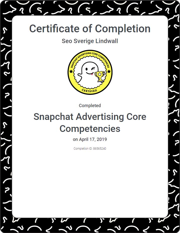 snapchat-certificate-seo-sverige-philip-lindwall